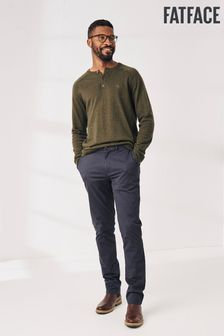 FatFace Blue Slim Stretch Chinos