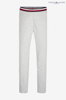 Tommy Hilfiger Solid Grey Leggings