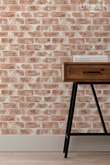 Urban Walls Warehouse Brick Wallpaper by Urban Walls