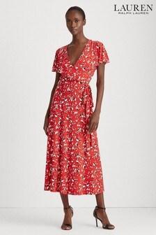 Lauren Ralph Lauren® Red Chrissy Dress