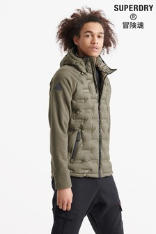 Superdry Radar Quilt Hybrid Jacket