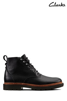 Clarks Black Trace Explore Boots