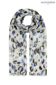 Accessorize Animal Soft Brushed Animal Stole Scarf