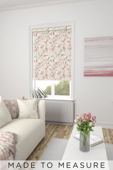 Magnolia Pink Made To Measure Roller Blind