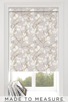 Magnolia Natural Made To Measure Roller Blind