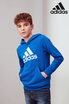 adidas Blue Must Have Overhead Hoody