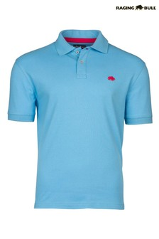 Raging Bull Blue New Signature Polo