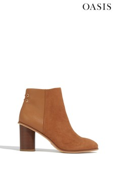 Oasis Tan Serena Ankle Boots