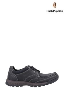 Hush Puppies Black Dominic Lace Shoes
