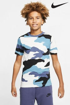 Nike Camo Print T-Shirt