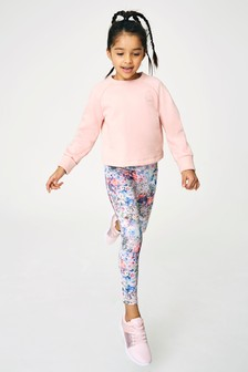 Sports Sweatshirt And Leggings Set (3-16yrs)