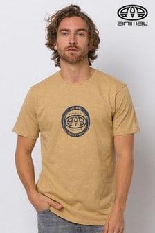 Animal Starfish Beige Freeride Graphic T-Shirt