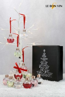 Gingle All The Way 12 Gin Filled Christmas Baubles by Le Bon Vin