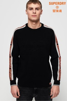 Superdry Grade Embossed Crew Jumper