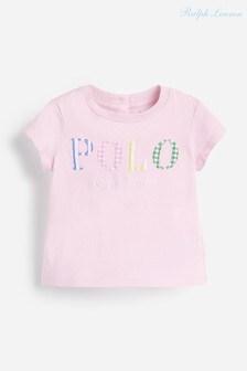 Ralph Lauren Pink Polo T-Shirt