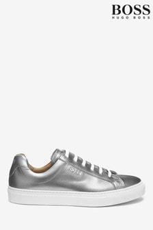 BOSS Silver Katie Low Cut Shoes