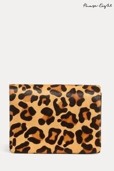Phase Eight Multi Lo Leopard Print Clutch Bag
