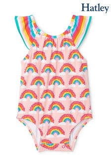 Hatley Magical Rainbows Baby Ruffle Swimsuit
