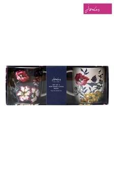 Joules Floral Mug Set 2 Pack