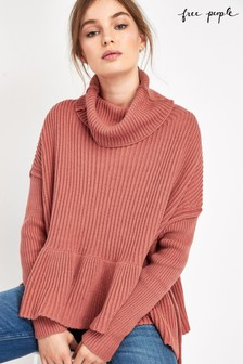 Free People Pink Layer Cake Jumper