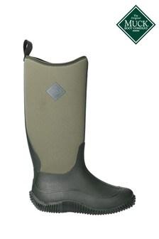 Muck Boots Green Hale Wellington Boots