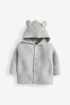 Knitted Bear Cardigan (0mths-3yrs)