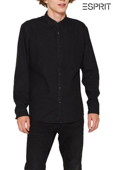 Esprit Black Denim Shirt