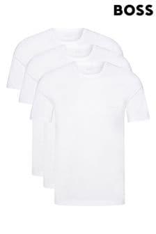 BOSS White T-Shirt Three Pack