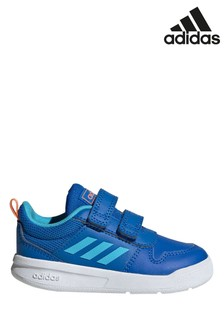adidas Blue/White Tensaur Infant Trainers
