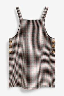 Check Piniafore Dress (3-16yrs)