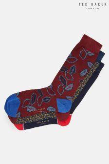 Ted Baker Bell Assorted Socks Three Pack