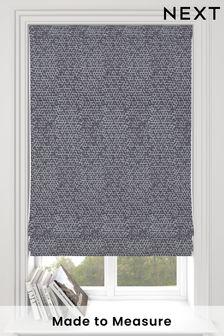 Makrana Slate Grey Made To Measure Roman Blind