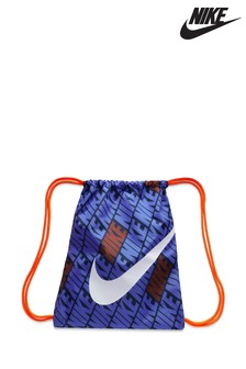 Nike Blue/Orange Printed Gym Sack