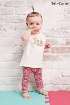 Juicy Couture Branded T-Shirt & Legging Set