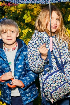 Cath Kidston® Kids Provence Rose Quilted Jacket