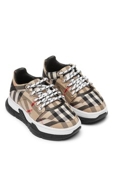 Kids Beige Trainers