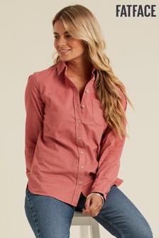 FatFace Pink Olivia Cord Shirt