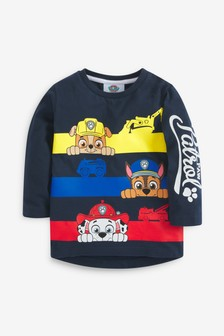 Paw Patrol Long Sleeve T-Shirt With Book (3mths-8yrs)