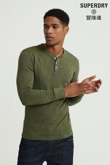 Superdry Legacy Long Sleeved Henley Top