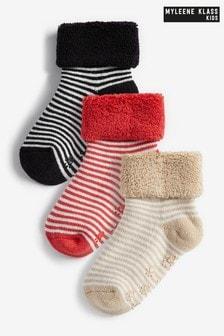 Myleene Klass Baby 3 Pack Socks