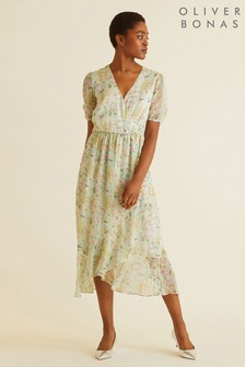 Oliver Bonas Storyteller Print Dress