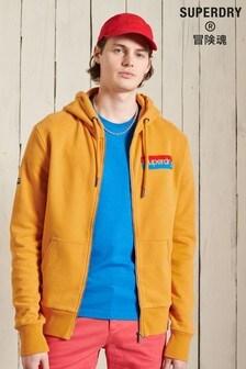 Superdry Core Logo Workwear Zip Hoodie