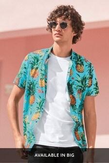 Print Short Sleeve Shirt