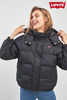 Levi's® Black Anya Padded Jacket