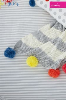 Joules Pom Pom Throw