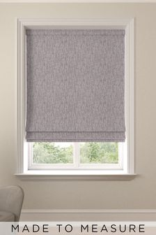 Sayeh Heather Purple Made To Measure Roman Blind