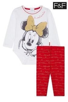 F&F Red Minnie Mouse™ Bodysuit Dress