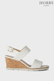 Hobbs White Verona Sandals
