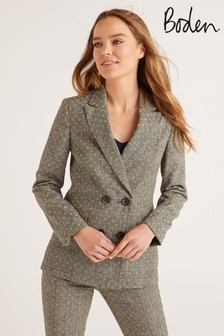 Boden Yellow Fawcett Blazer