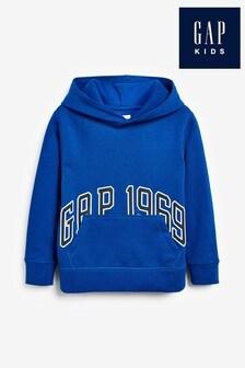 Gap Boys Blue Logo Hoody